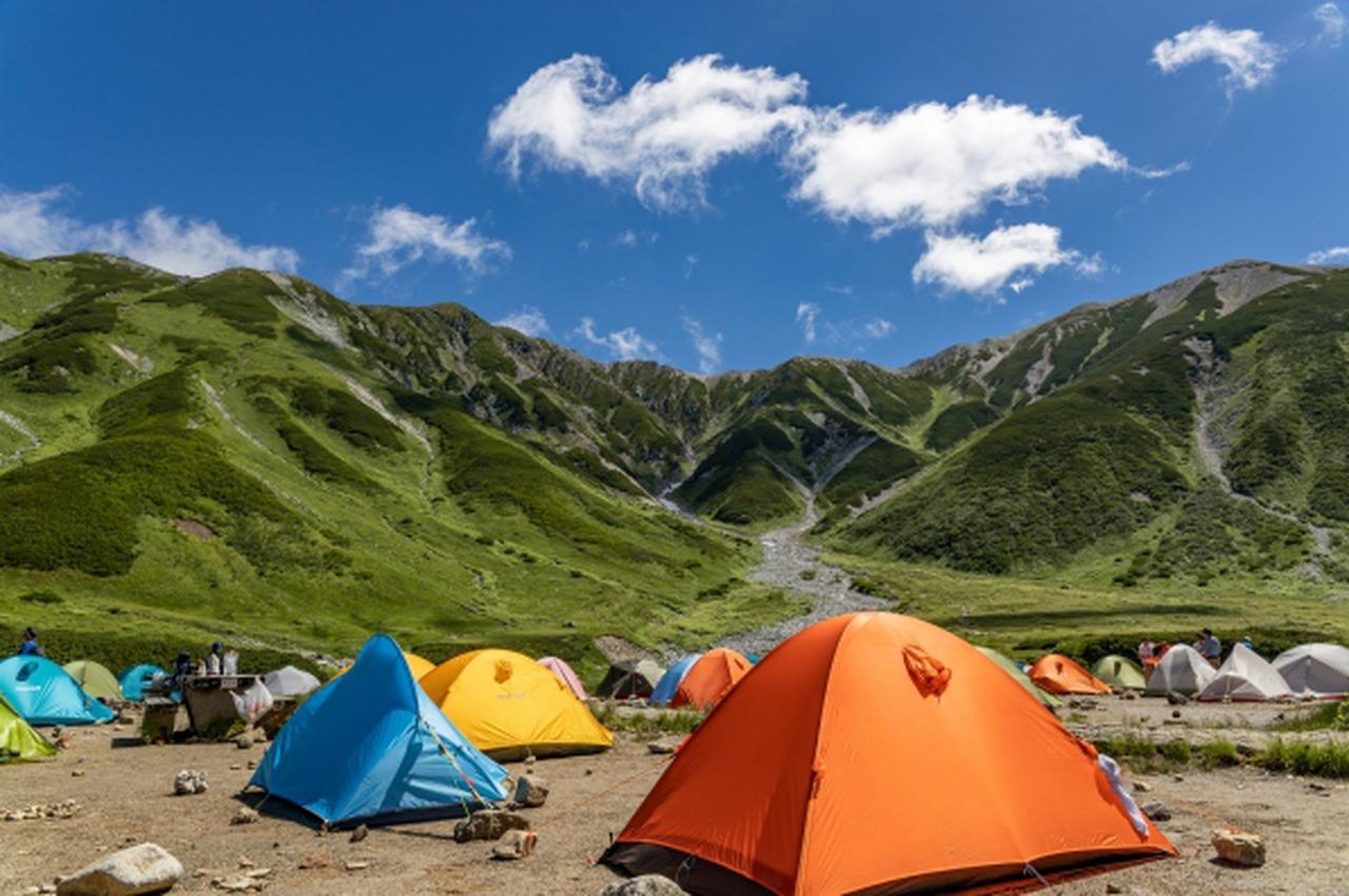 画像: はじめてみよう!テント泊登山~テント泊に必要な基礎知識とテントの種類~