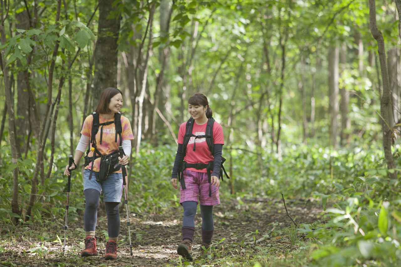 画像2: 登山もおしゃれも楽しみたい! 山ガールファッションと登山の服装の基本