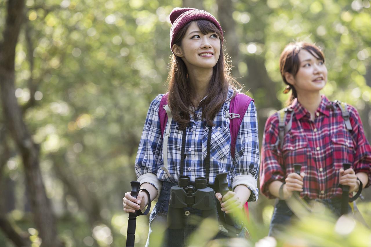画像1: 登山もおしゃれも楽しみたい! 山ガールファッションと登山の服装の基本