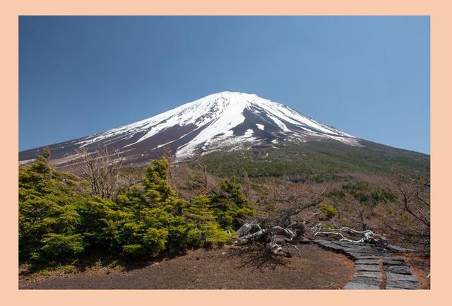 画像: 奥庭からみた富士山(イメージ)