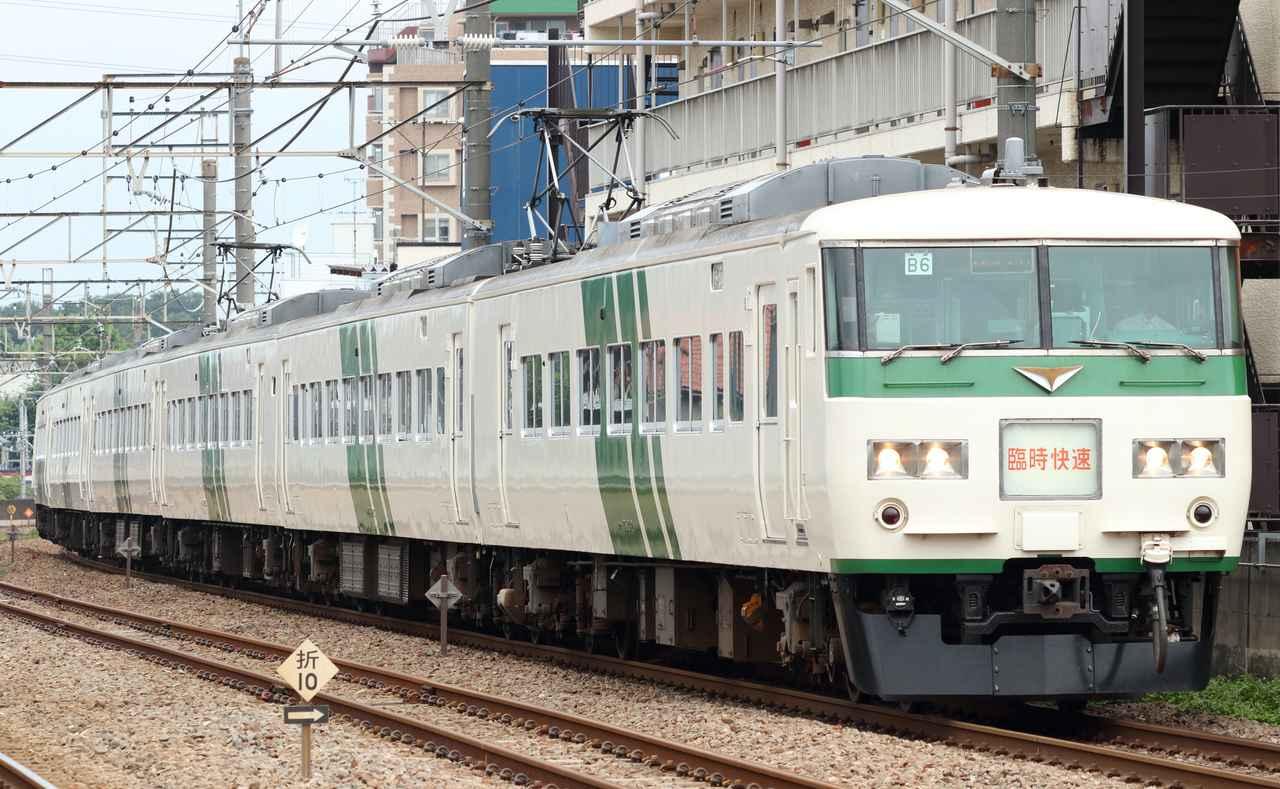 画像: 国鉄185系電車