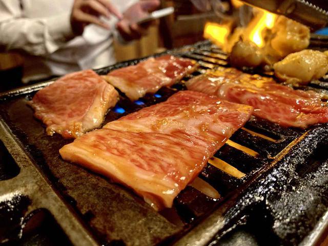 画像: 五島牛の焼き肉