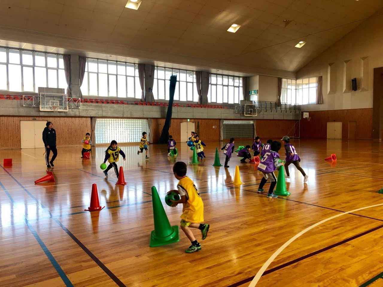 画像: 大人も楽しめるボールゲーム企画で団結感を高めます!©️松本山雅FC