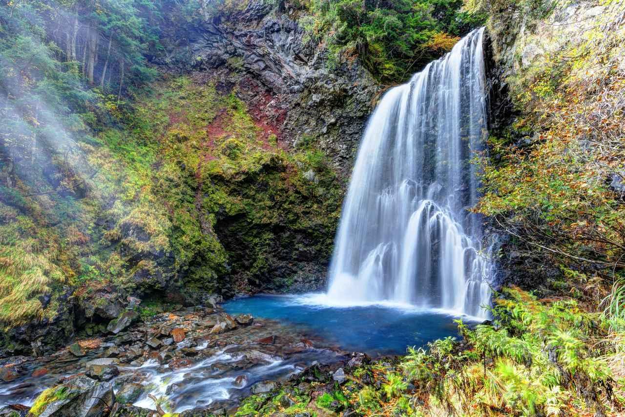 画像: マイナスイオンたっぷりの善五郎の滝