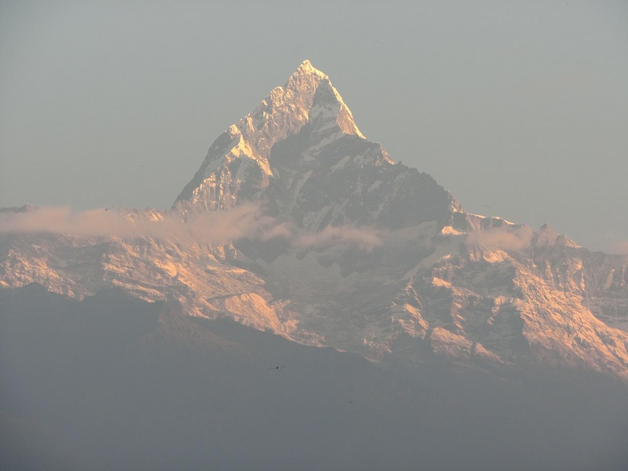 画像: 遊覧飛行でエベレストをパチリ!
