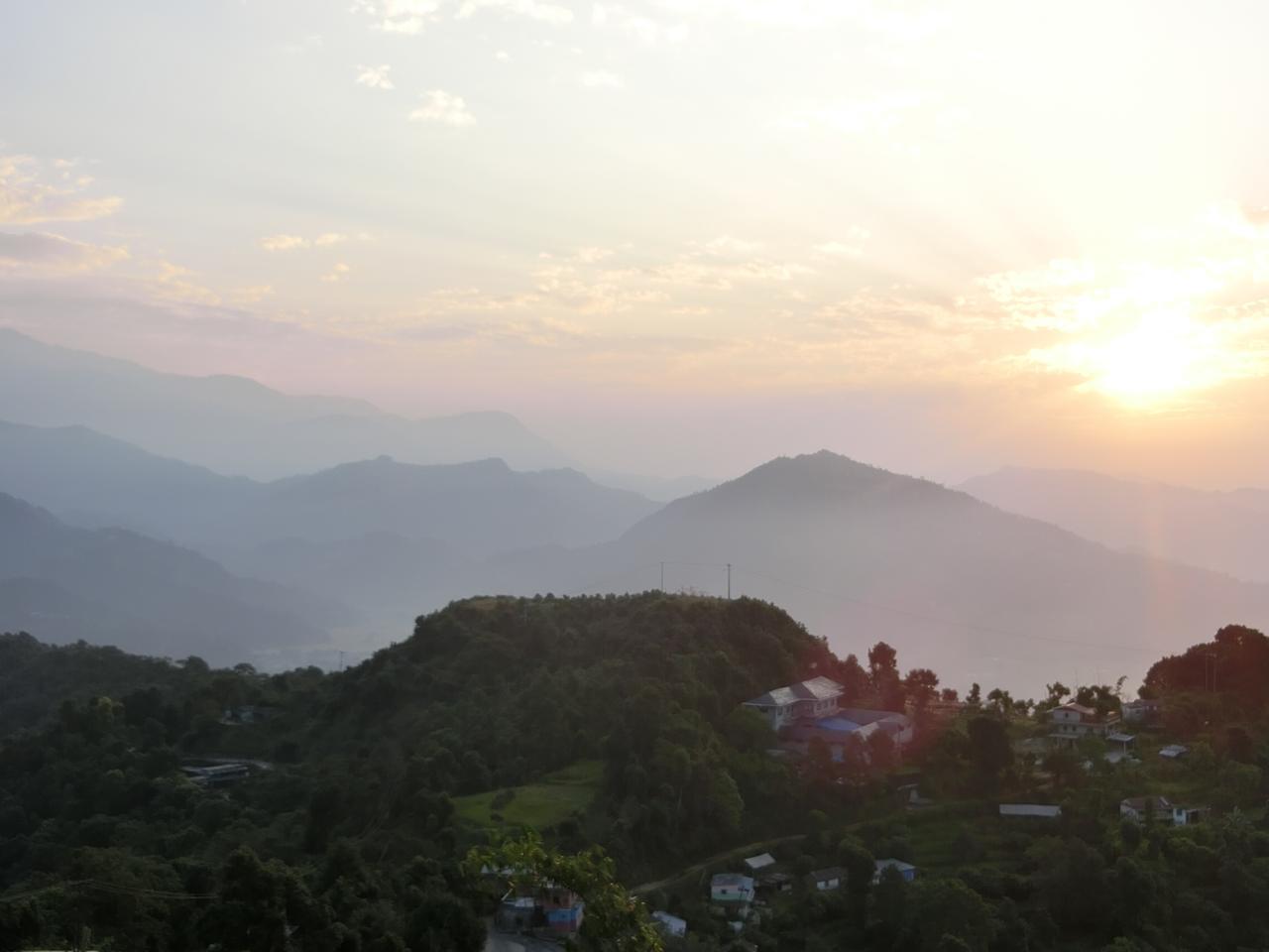 画像: ナガルコットからの眺め