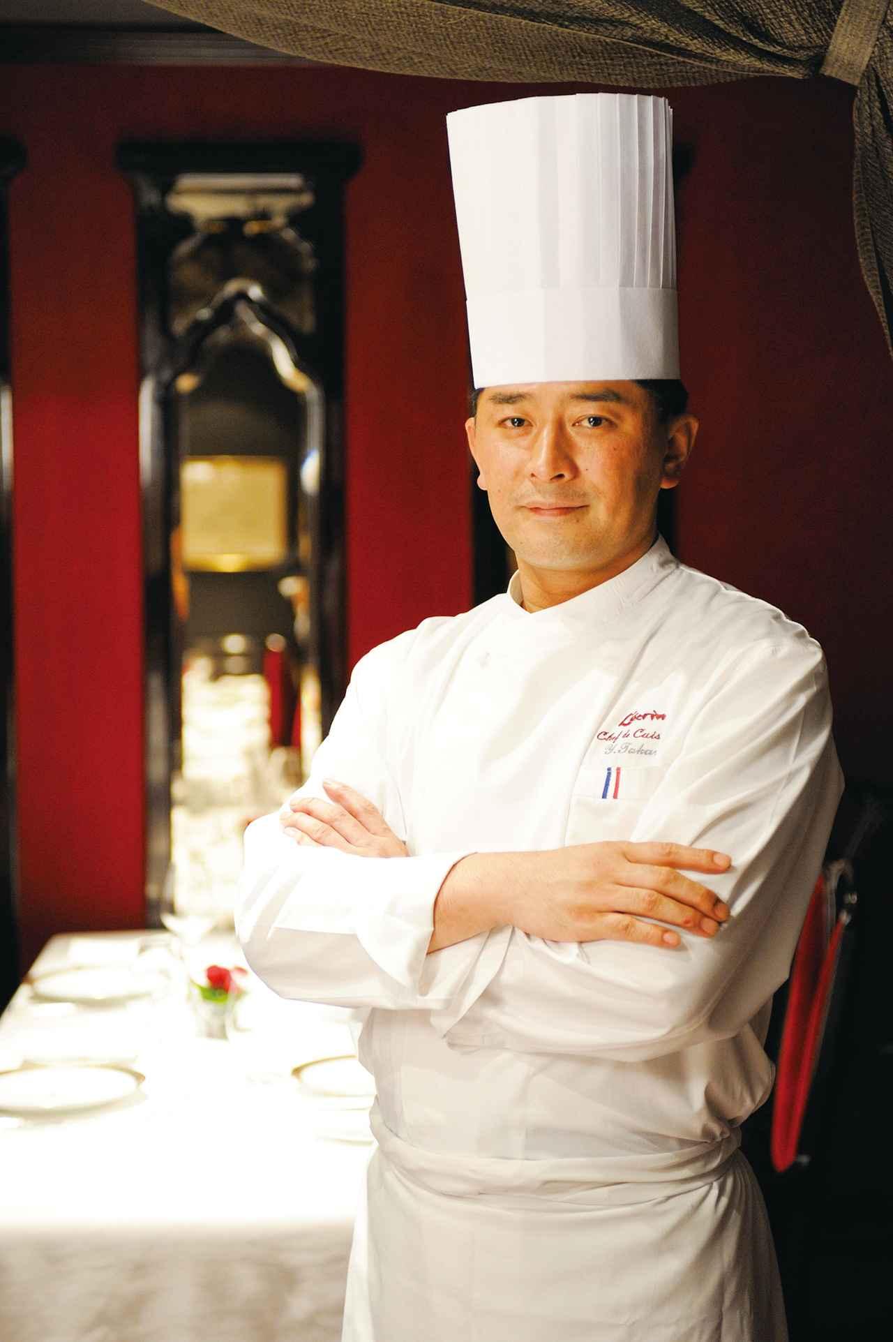 画像: 高良康之/1989年より渡仏し修行。帰国後は様々な店舗で料理長を歴任。2007年より銀座レカン料理長に就任。