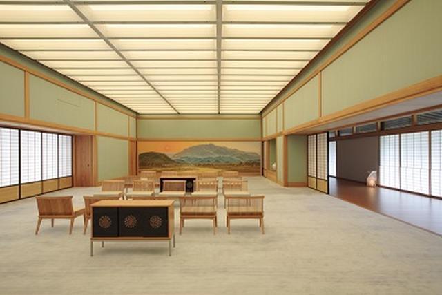 画像: 夕映えの間/出典:内閣府ホームページ( http://www.geihinkan.go.jp/geihinkan/kyoto/koukai-kyoto.html)
