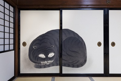 画像: 相国寺林光院 襖絵「虎」