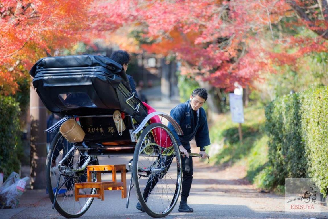 画像: <大人のゆるり旅>『一度は体験してみたい!ヘリコプターから眺める京都絶景紅葉 人力車とタクシーで極力歩かずゆるり紅葉めぐり 3日間』<19名以下> クラブツーリズム