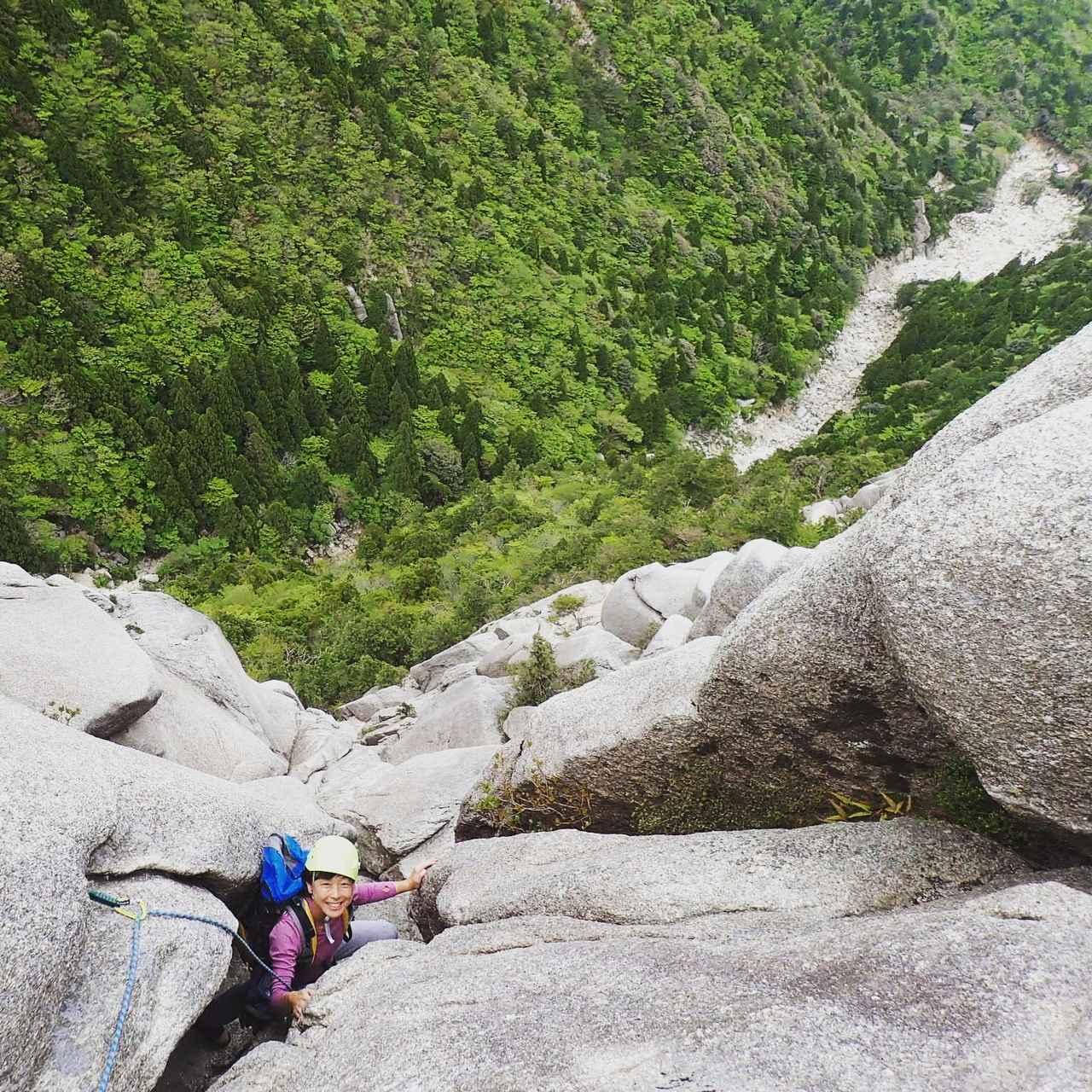 画像: 御在所岳でロッククライミング!