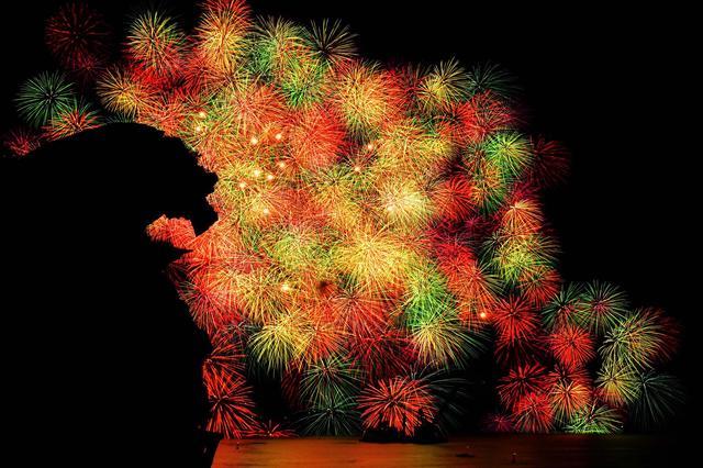 画像: 熊野の花火