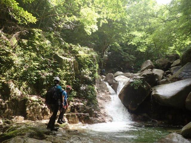 画像: <登山初級B!>『小岐須渓谷 池ヶ谷 沢登り体験 日帰り』|クラブツーリズム