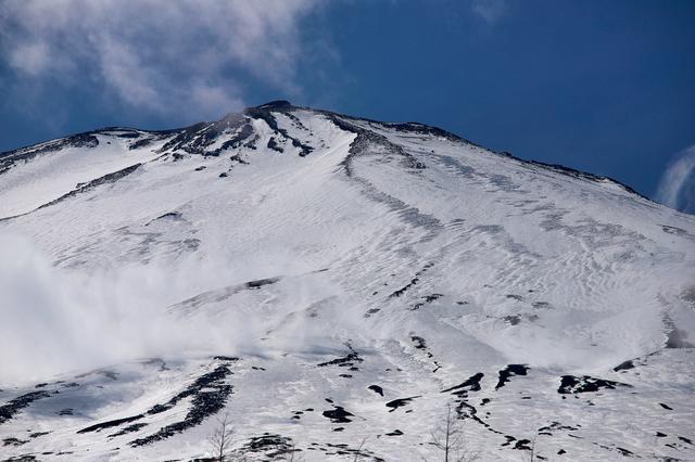 画像: 冬の富士山