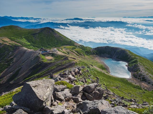 画像: <登山中級A>『御嶽山と継子岳(黒沢口から日和田道分岐へ) 2日間』 クラブツーリズム