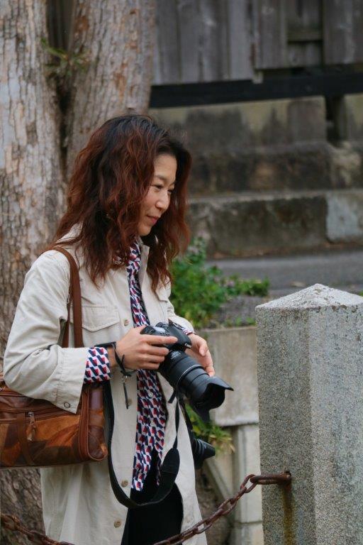 画像: ツアー同行のkana(園田加奈)講師