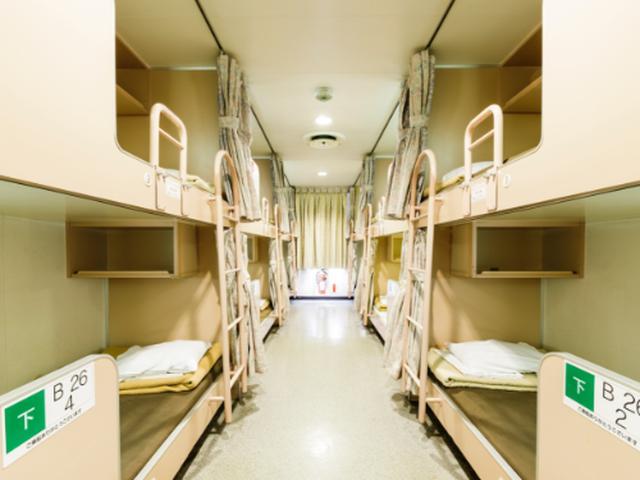 画像: 2等寝台(イメージ) www.miyazakicarferry.com