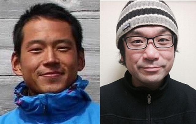 画像: 私たちがご案内します! 左:山内竜太ガイド 右:藤原正和ガイド