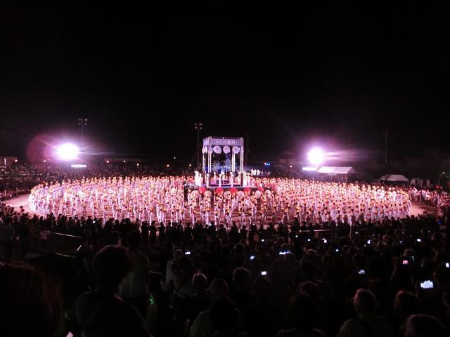画像1: 幻想的な千人灯籠踊りに感動