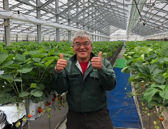 画像: 越後姫の食べ放題で立ち寄った「タカギ農場」を経営されている髙橋社長