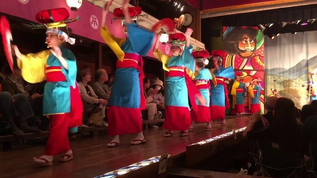 画像: 東北まつりin康楽館 盛岡さんさ踊り www.youtube.com