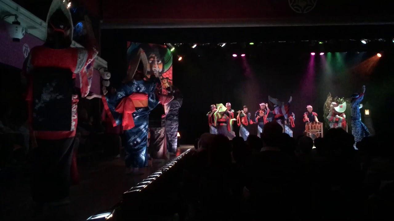 画像: 東北まつりin康楽館 西馬音内盆踊り www.youtube.com
