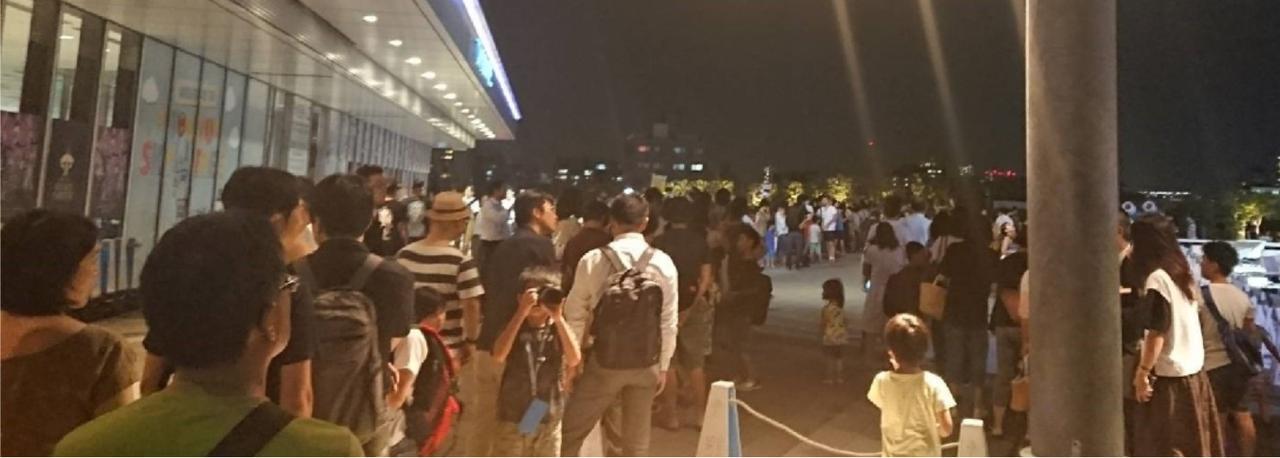 画像: 2018.07.31 東京ソラマチでのイベントの様子