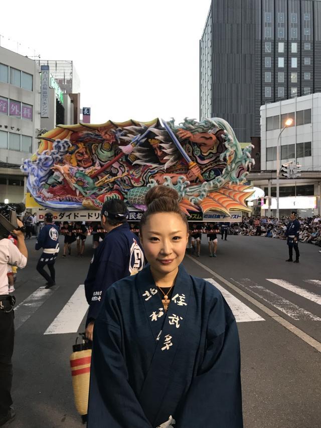 画像: 北村麻子さんの作品が、2018年市長賞・優秀制作者賞を受賞されました。 作品名『入雲龍 公孫勝』 クラブツーリズム協賛「あおもり市民ねぶた号」