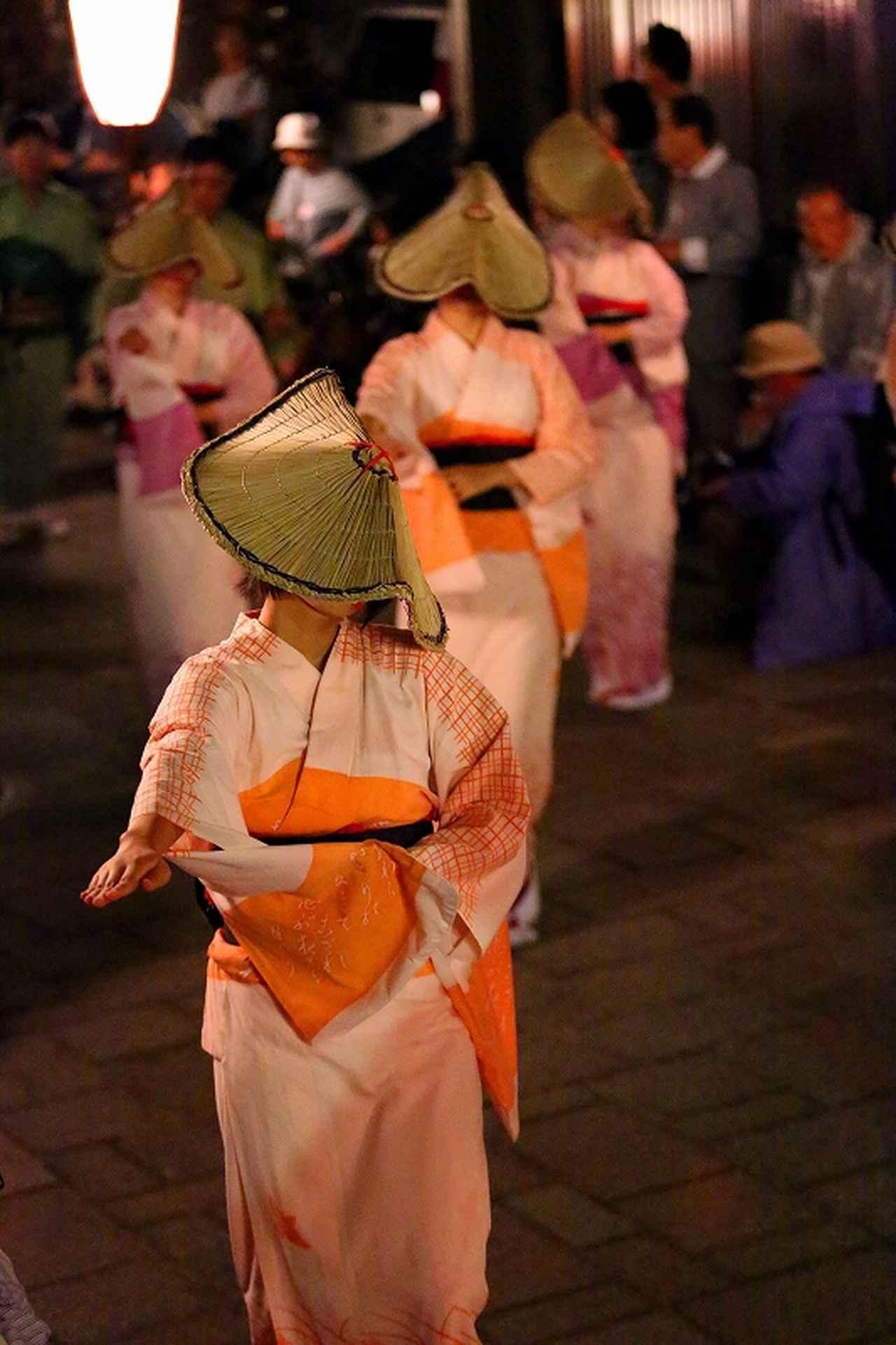 画像2: 9月29日(土)・30日(日)開催「月見のおわら」でおわらの踊りをじっくり観賞しましょう!