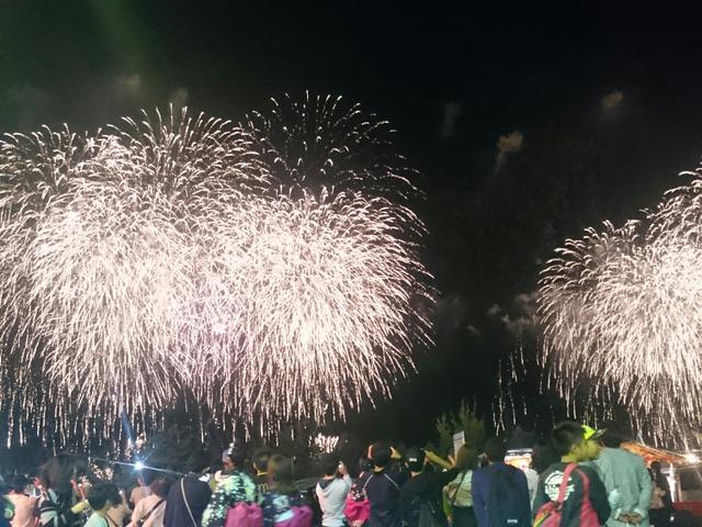 画像: 大輪の花火がお客様を高揚させます