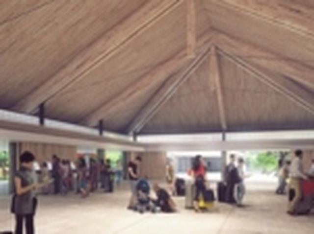 画像: 下地島空港チェックインロビー(イメージ)
