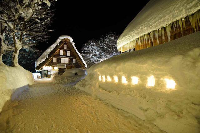 画像2: 【photo阿武悦司(Anno Etsuji)】民家園ライトアップの様子(イメージ)