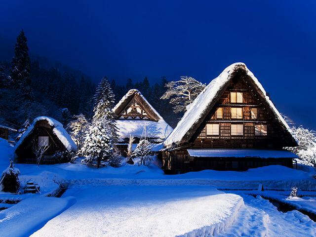 画像: 【東京23区発】白川郷民家園ライトアップツアー・旅行│クラブツーリズム