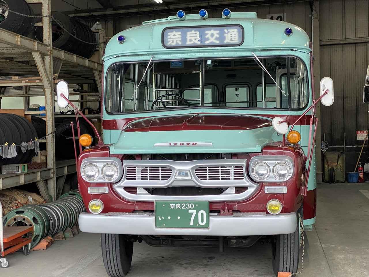 画像: レトロボンネットバスとは