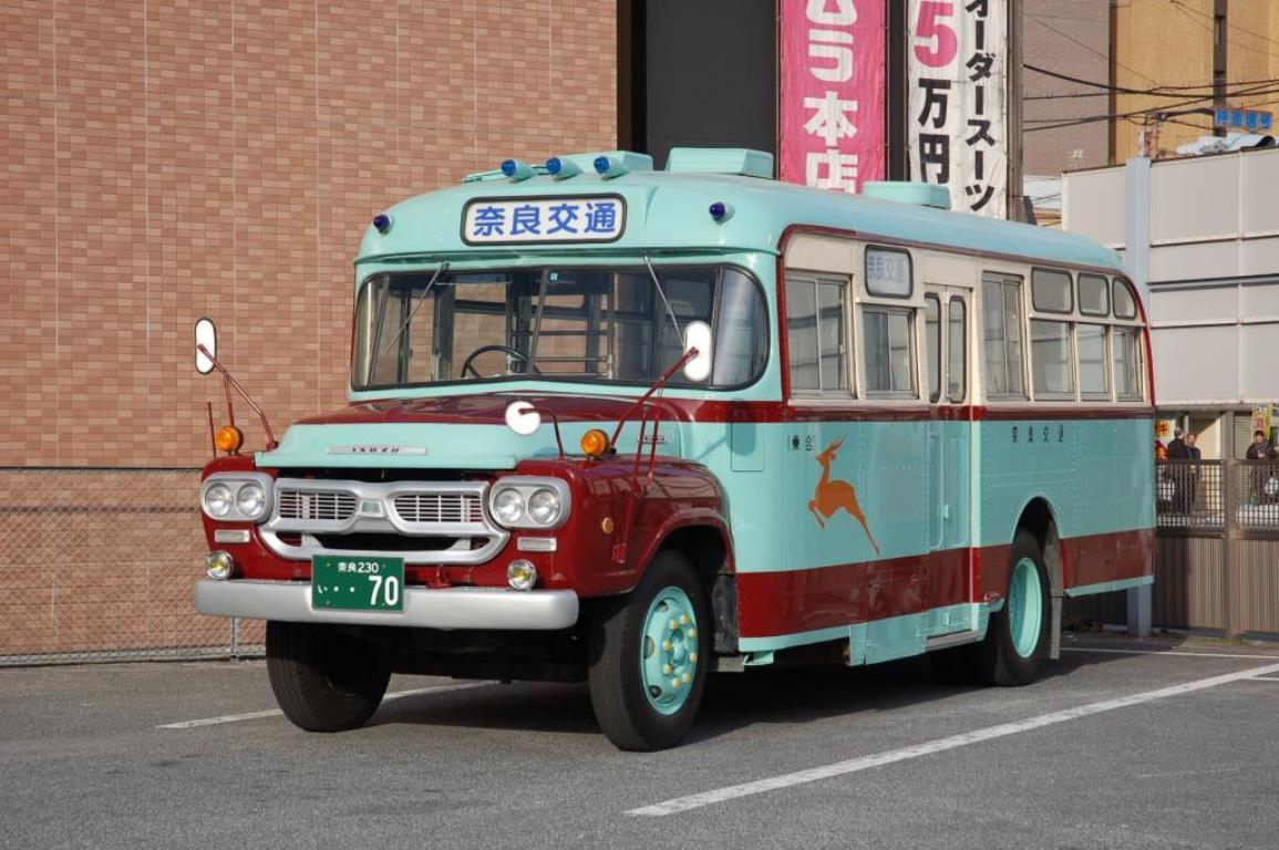 画像: 『昭和レトロボンネットバスに 往路 の乗車!』奈良赤レンガフェスティバル2021 旧奈良監獄見学【近鉄奈良駅集合】|クラブツーリズム