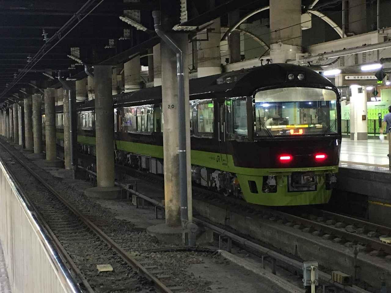 画像: 代走「リゾートやまどり」高崎車両センターのある新前橋駅まで力走した。