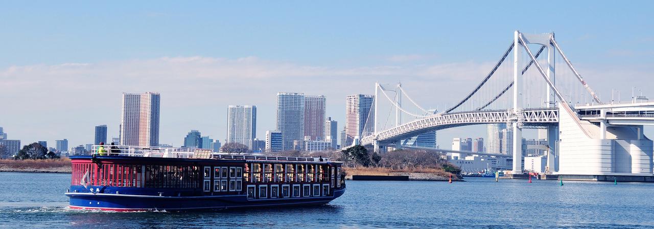 画像: 船から見る東京2020オリンピック開催予定地めぐり
