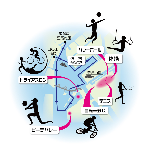 画像: 【C6368】【現地集合】 元オリンピック選手の船上トークセッション 「私とオリンピック」 船から見る東京2020オリンピック開催予定地めぐり クラブツーリズム