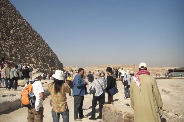 画像: ギザのピラミッド