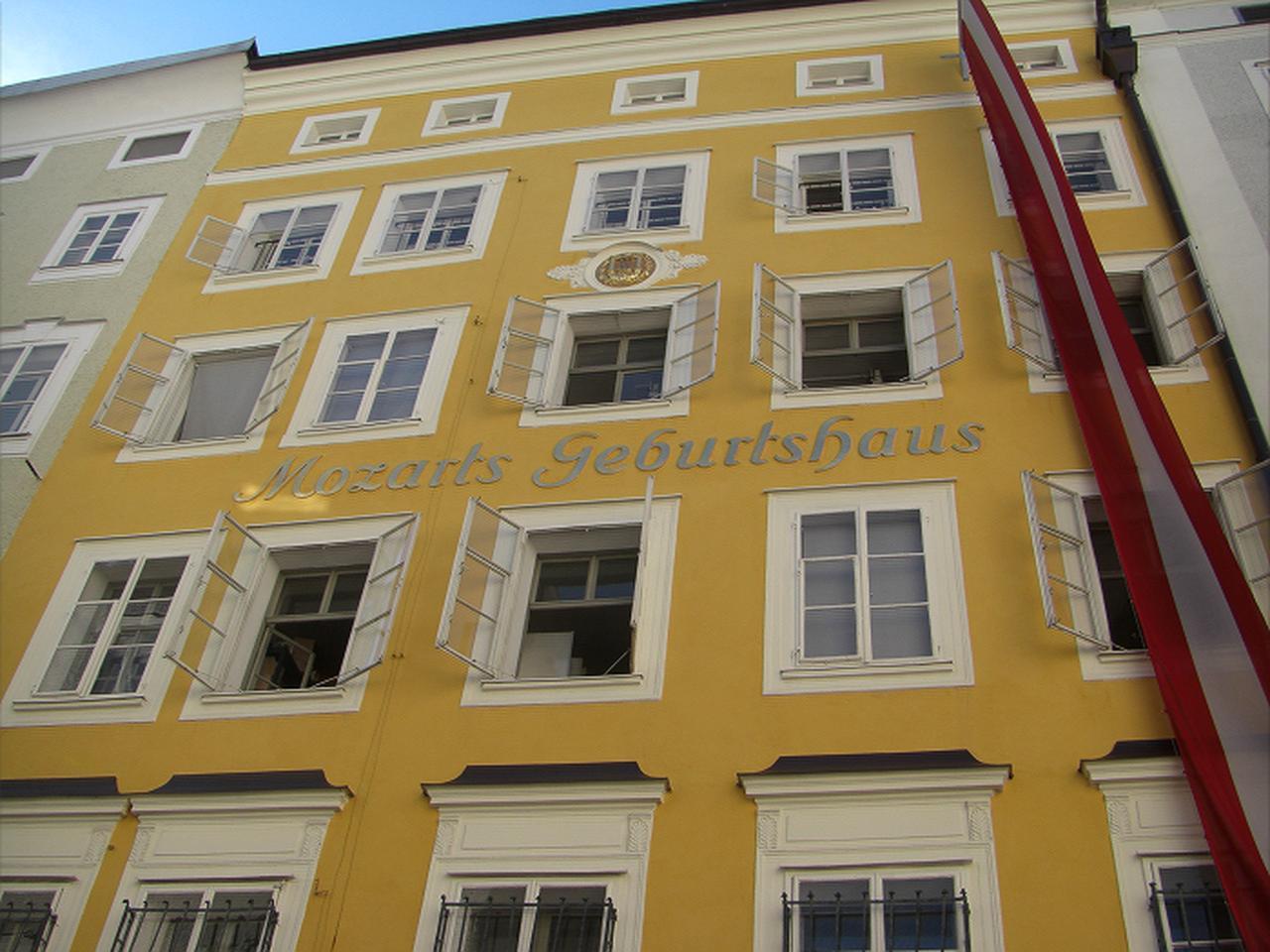 画像: ザルツブルクのモーツァルト生家