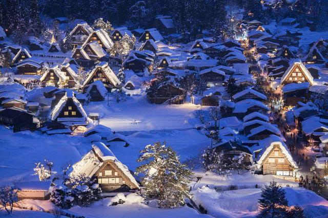 画像: 日本の世界文化遺産「白川郷・五箇山の合掌造り集落」(平成7年に認定)
