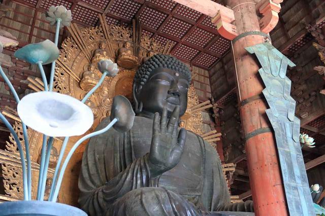 画像: 東大寺の大仏