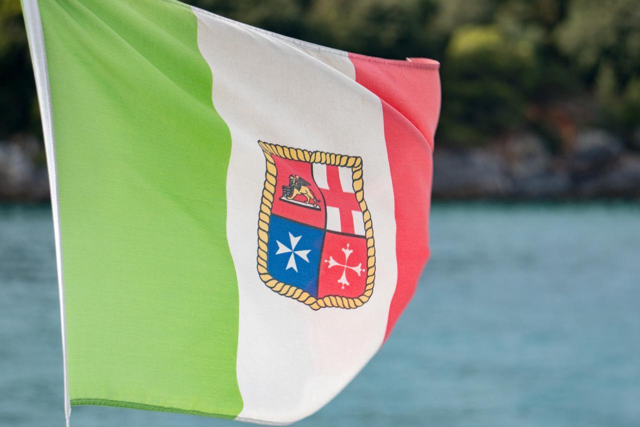 画像: イタリア軍艦旗