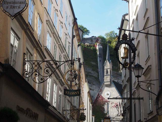 画像: ザルツブルグの街並