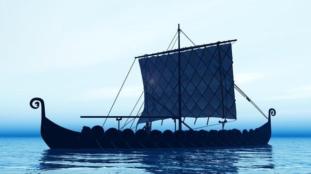 画像: ヴァイキング船(イメージ)