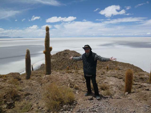 画像3: ボリビア ウユニ塩湖 インカワシ島(イメージ)