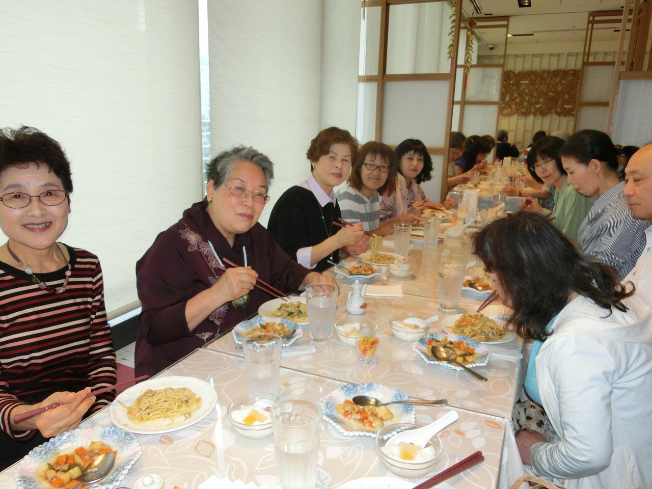 画像: 梅蘭でのお食事