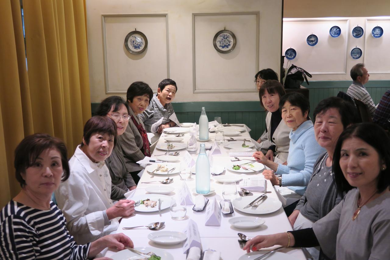 画像: お食事をしながらとても会話が盛り上がりました