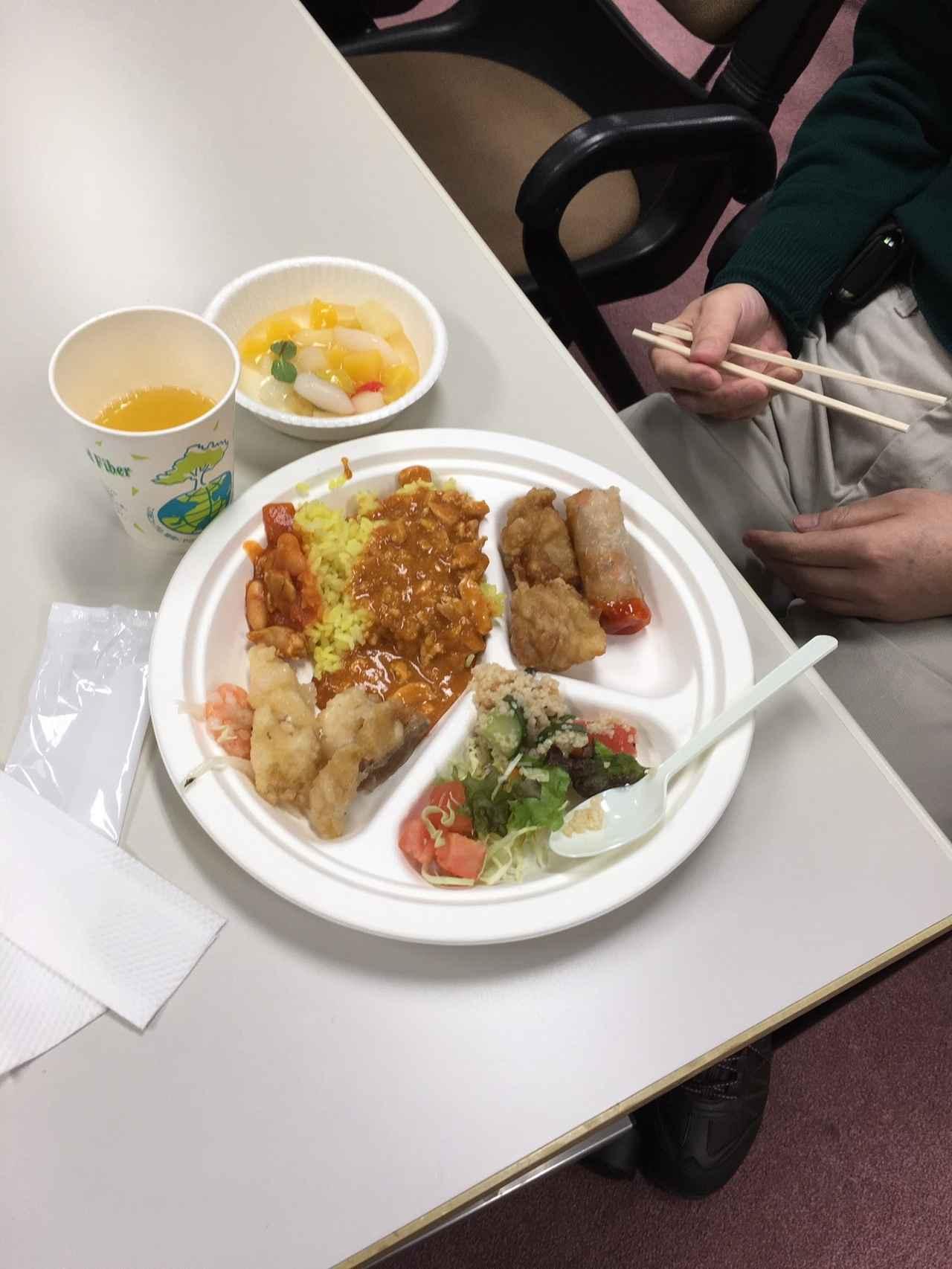 画像: きれいに盛り付けてお食事