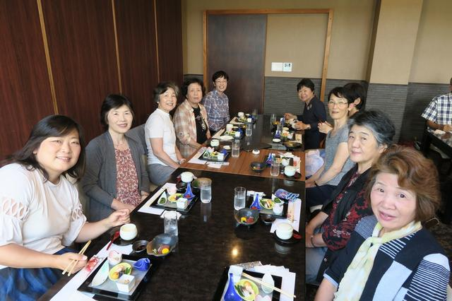 画像: 和食御膳を召し上がっていただきました